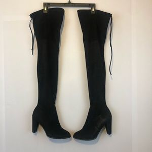 Catherine Melandrino Sorcja over the knee boots